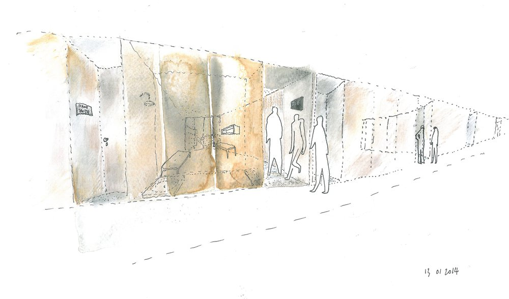 Florey_Building_Oxford_Scrapbook_threshold-to-room-sketch-over-watercolour.jpg