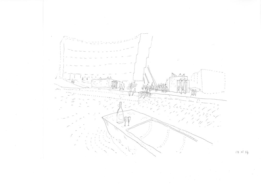 Florey_Building_Oxford_Scrapbook_view-from-a-punt-black-pen.jpg